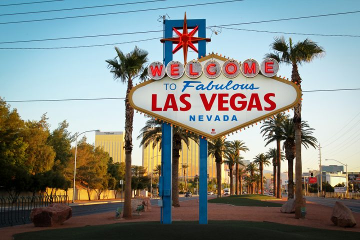 The fabulous Welcome Las Vegas sign in Nevada