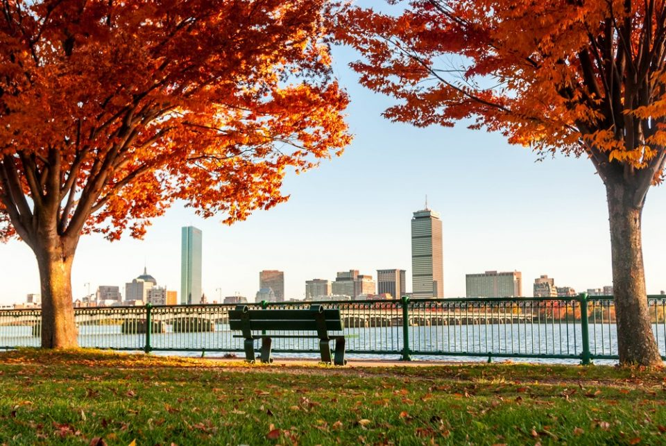 Boston in the late fall