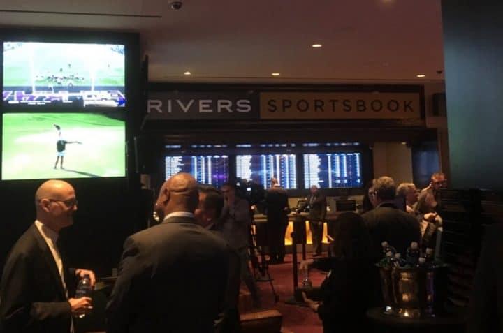 rivers sportsbook opening