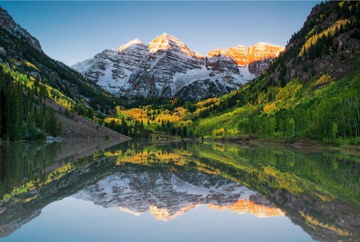 rocky mountains colorado mile high