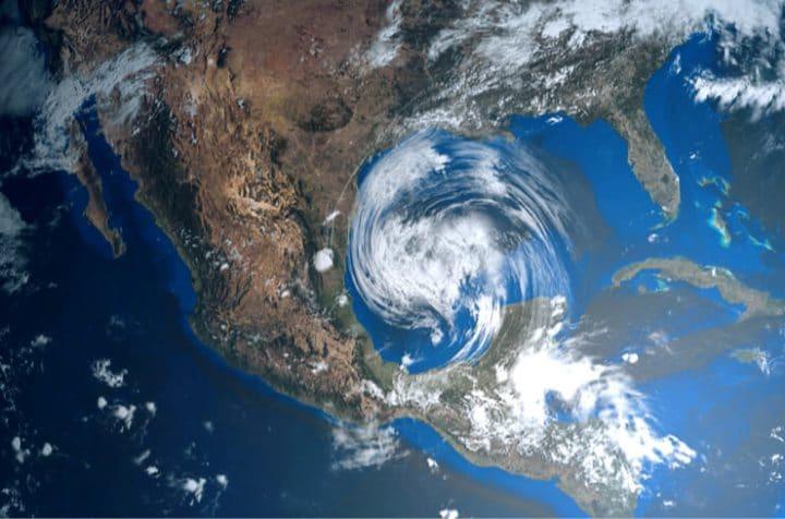 texas gulf hurricane