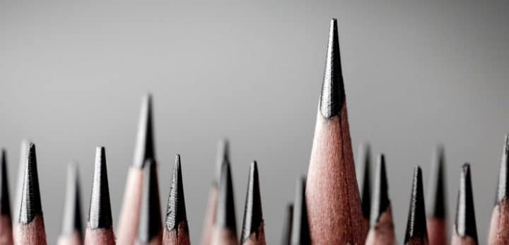 Sharp pencils