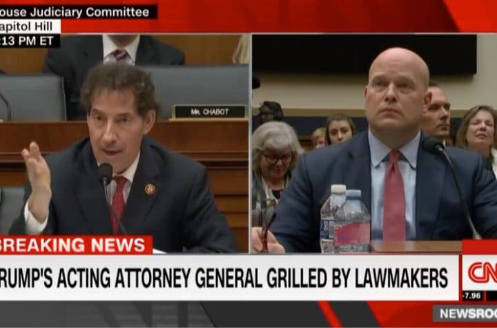 jamie raskin matthew whitaker cnn attorney general hearing