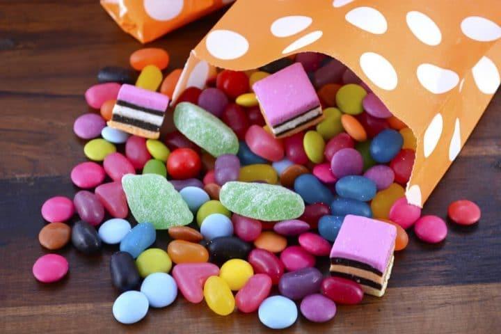 mixed candy bag