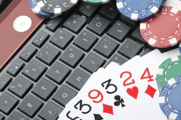 keyboard cards chips