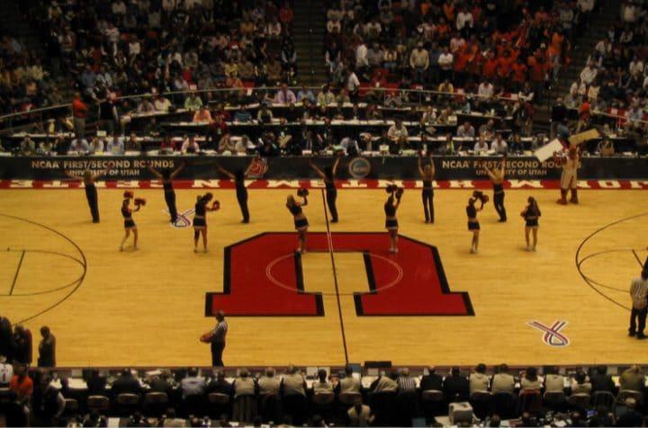 university of utah basketball court