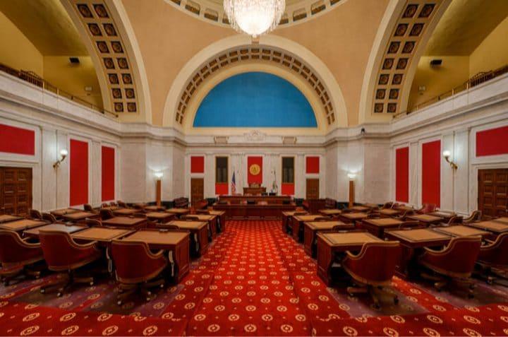 west virginia senate floor