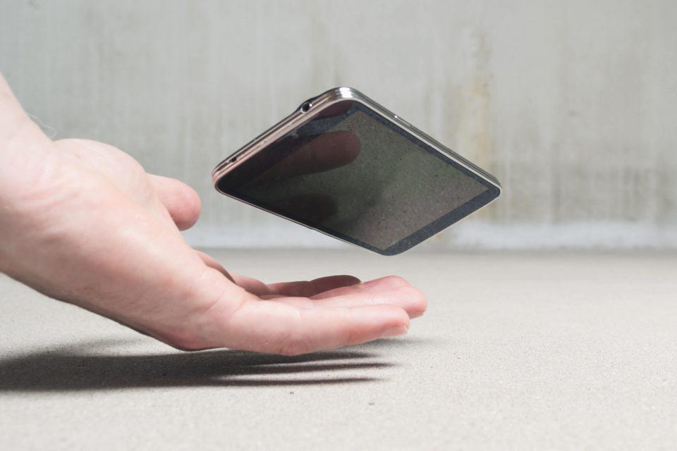 phone falling