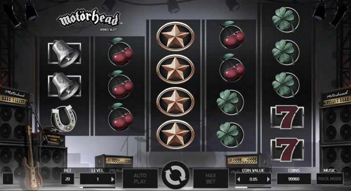 NetEnt's Motorhead online slot