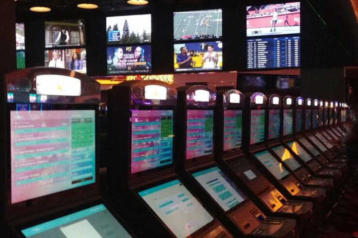Sports Betting Kiosks But Not in Vegas