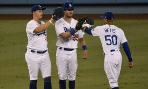 dodgers pederson bellinger betts