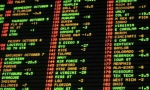 sportsbook board