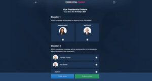 fanduel vice presidential debate pool