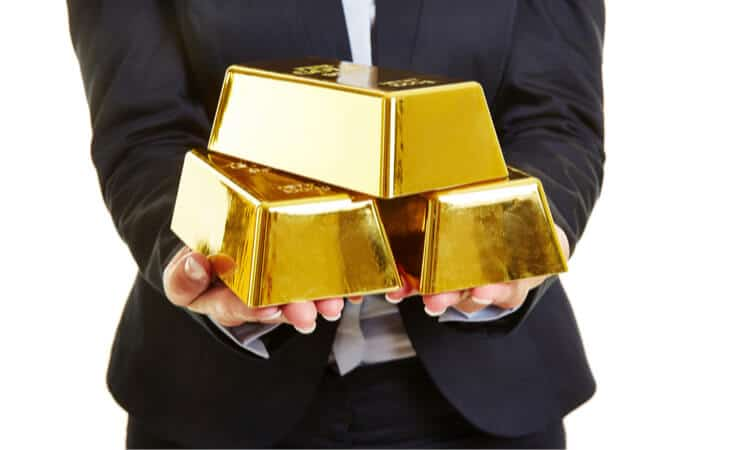 three bars gold