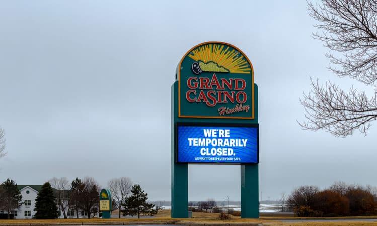 grand casino hinckley closed
