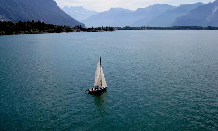 sailboat calm water