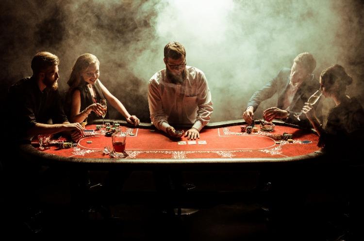 smoking gambling