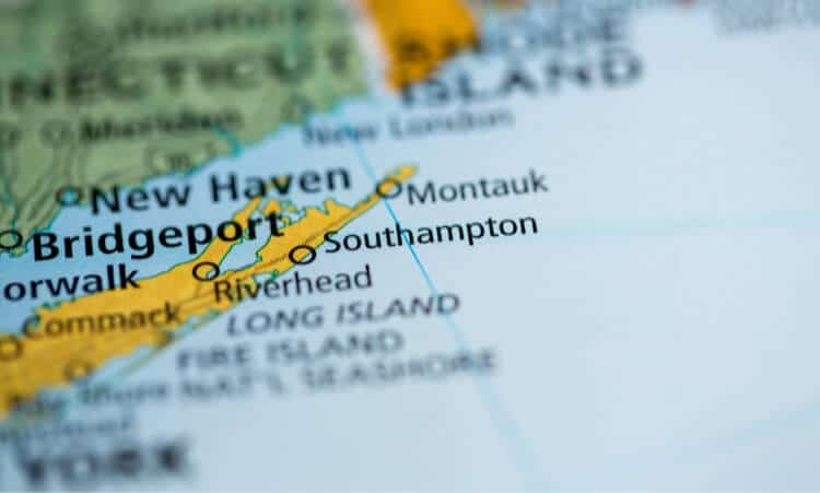southampton new york map