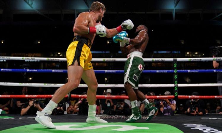 logan paul floyd mayweather boxing