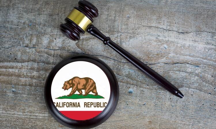 california gavel
