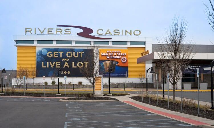 rivers casino exterior