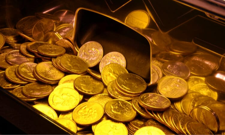 slot machine quarters
